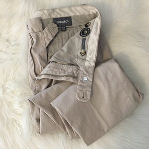 New Bonobos Pants Slim 33 34 Premium Chinos Khaki
